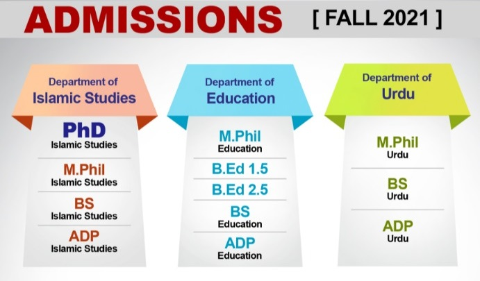 Admission Open Fall 2021